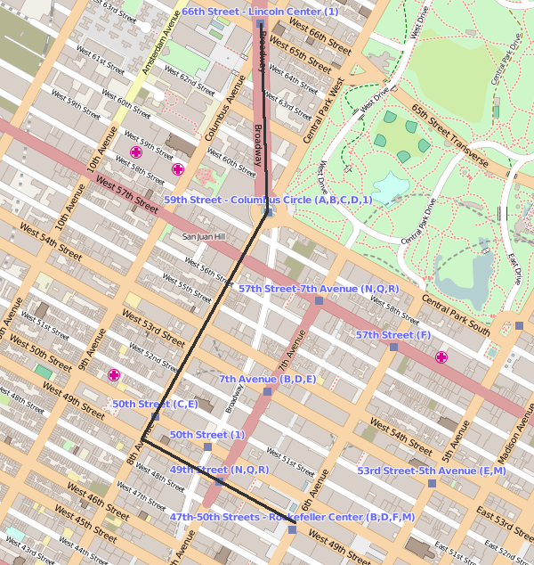 Figure 2: New York the wrong way