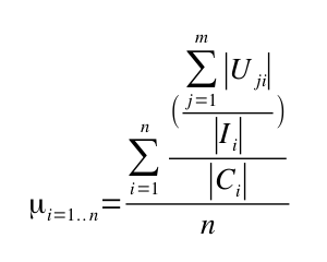 Interface efficiency equation